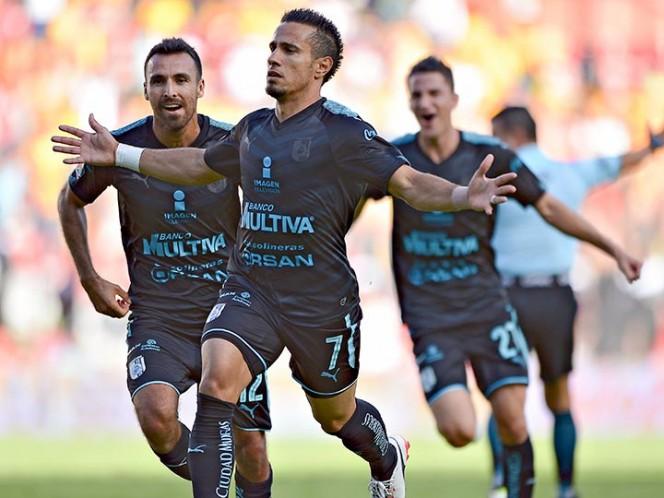 Edson Puch salió lesionado en agónico triunfo de Pachuca