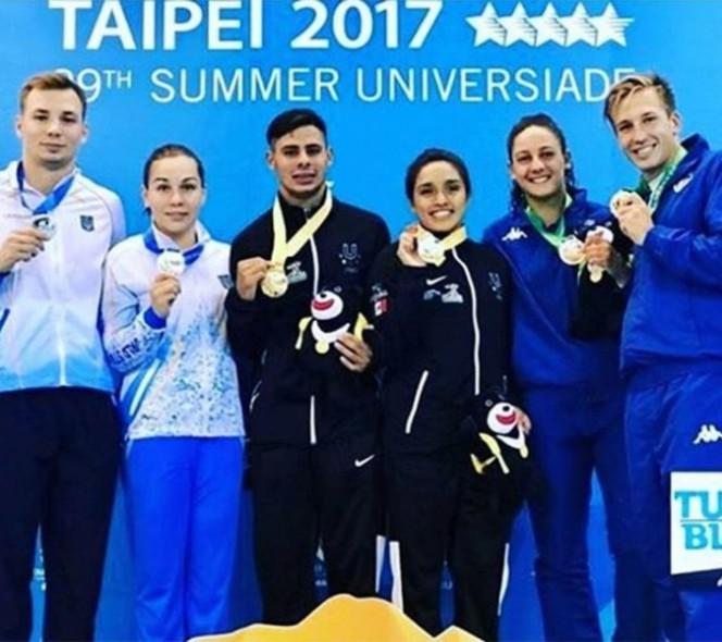 México gana tres medallas en Universiada Mundial