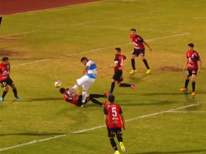 Lo más doloroso del día: la terrible patada en el rostro a jugador de Antofagasta en la Copa Chile
