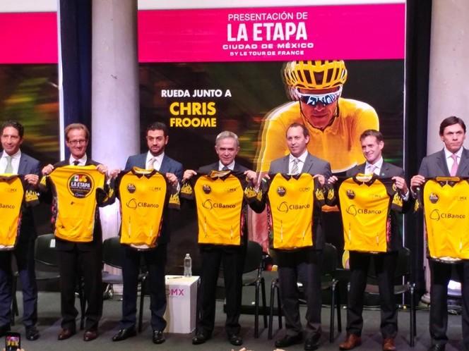 Chris Froome, embajador de La Etapa CdMx del Tour de Francia