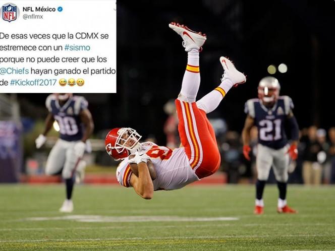 La NFL se burló del terremoto en México y luego pidió disculpas