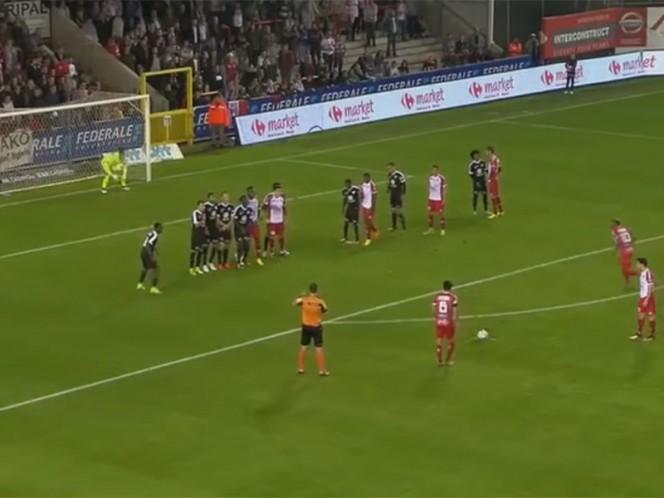 El golazo de Omar Govea en el futbol belga