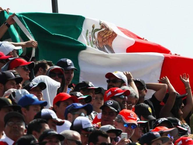 Vuela Vettel en calificación del GP de México; Checo arrancará décimo
