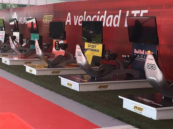 Queda inaugurada actividad de la F1 Fan Zone 2017