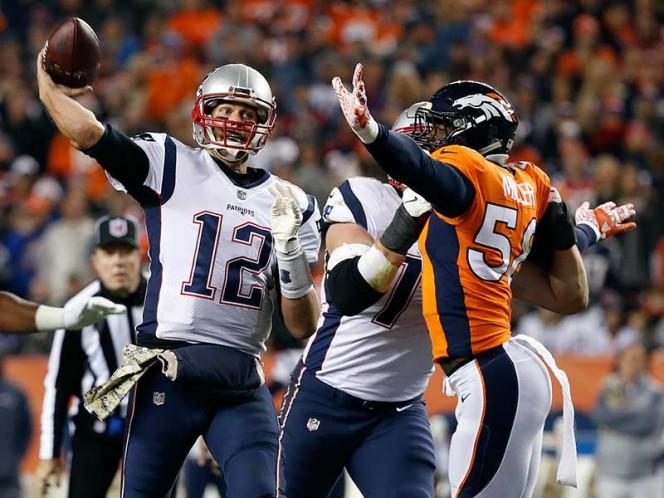Da Patriots paliza de 41-16 a Broncos