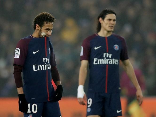Neymar y Cavani protagonizaron una discusión en este año (Reuters)