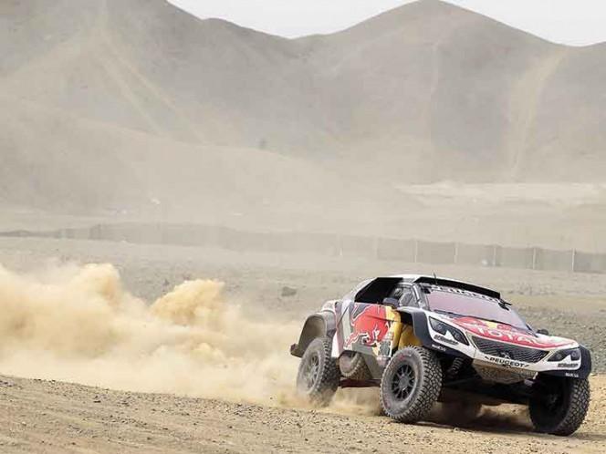 Despres se adjudicó la segunda etapa del Rally Dakar