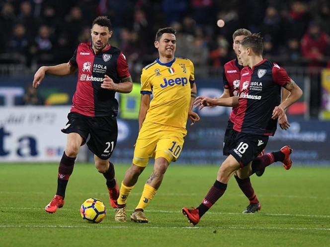 Dybala salió lesionado en el partido de Juventus