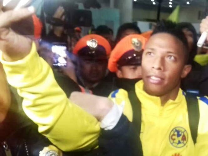 Caótica la llegada de Ibargüen a la CDMX