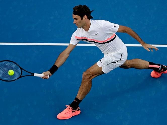 Impecable paso de Federer en Australia