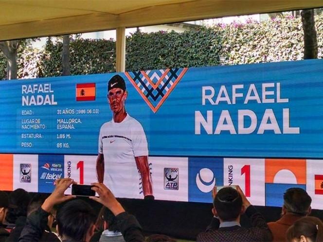Rafael Nadal viene al Abierto Mexicano de Tenis 2018
