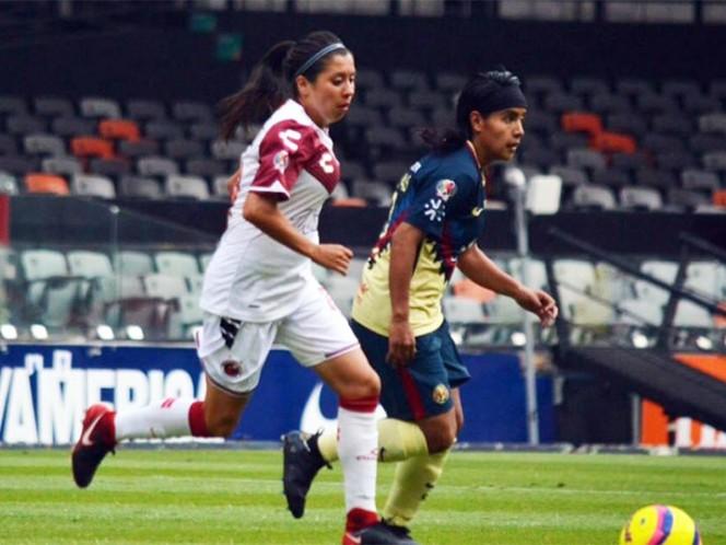 América Femenil endereza su paso y golea a Veracruz