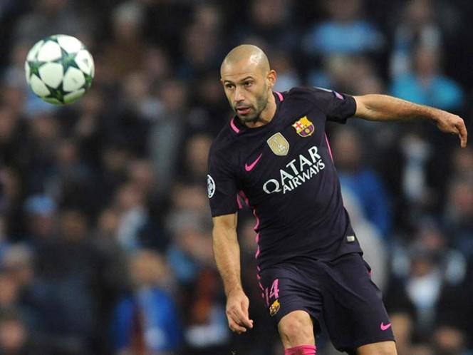 Así será la despedida de Mascherano del Barcelona