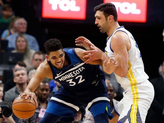 Minnesota manda en casa sobre los Warriors