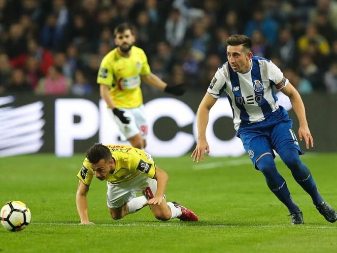 ¡Goles mexicanos! Héctor Herrera anota en el triunfo del Porto