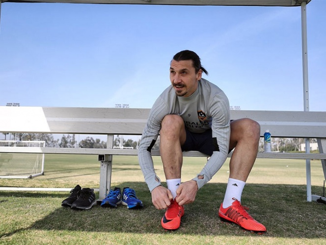Zlatan tendrá su posible debut en el LA Galaxy el próximo sábado