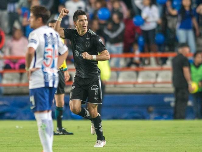 Monterrey venció a Pachuca a domicilio