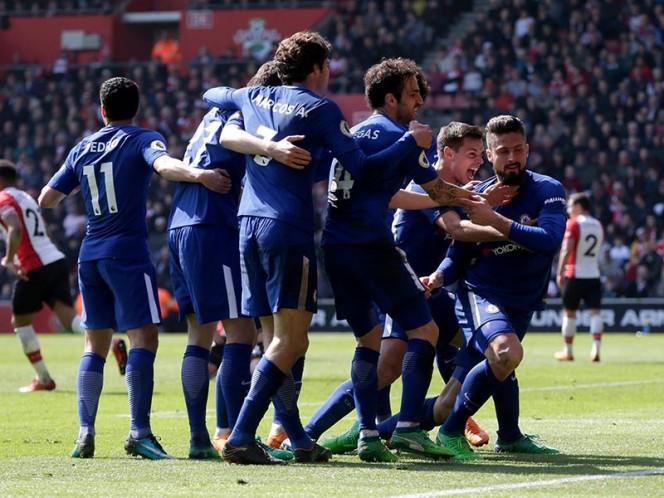 Southampton perdió con Chelsea