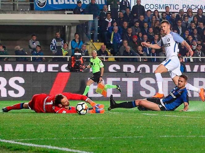 Inter empató sin goles en su visita a Atalanta