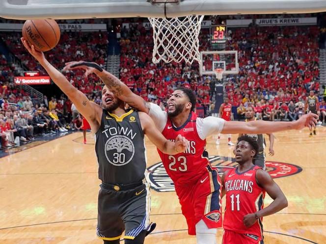 Pelicans se acercaron en la serie luego de vencer a los Warriors