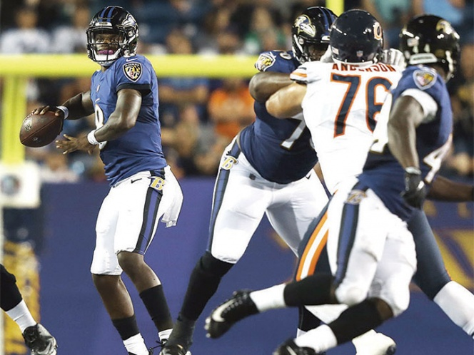 Chicago Bears vs Baltimore Ravens, Pretemporada 2018 — NFL EN VIVO