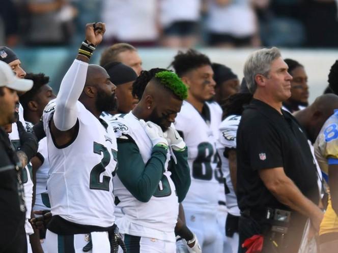 Continúan protestas en la NFL contra Donald Trump