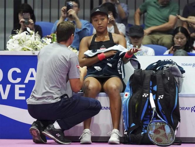 WTA Tokio: Naomi Osaka está en modo invencible