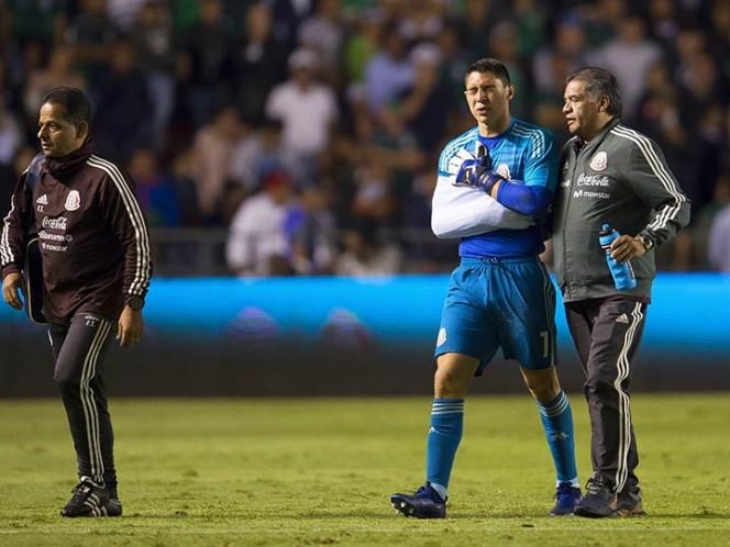 Hugo González no sufrió fractura tras choque con Nico Castillo