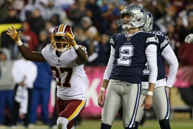 Redskins siguen líderes de la división derrotando a los Cowboys