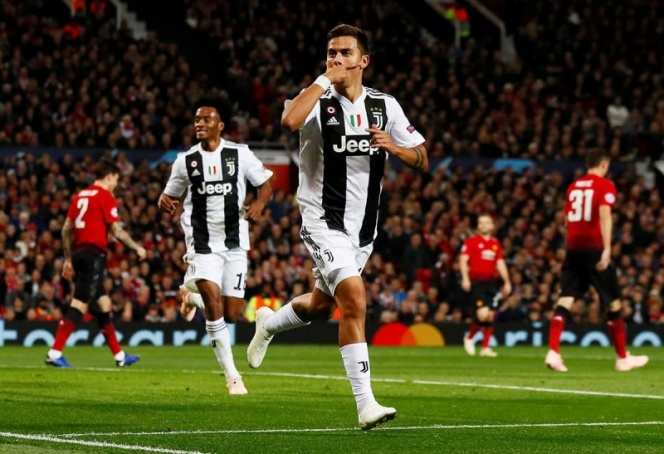 Juventus venció al Manchester United en Old Trafford
