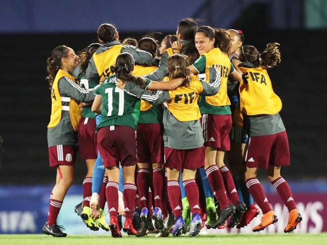 'Tri' femenil sub 17 logra histórico pase a final mundialista