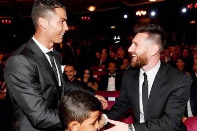 Messi y Cristiano, presentes para el River - Boca