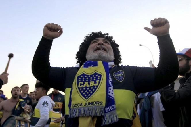 Aficionado sufre un infarto antes del partido entre Boca y River