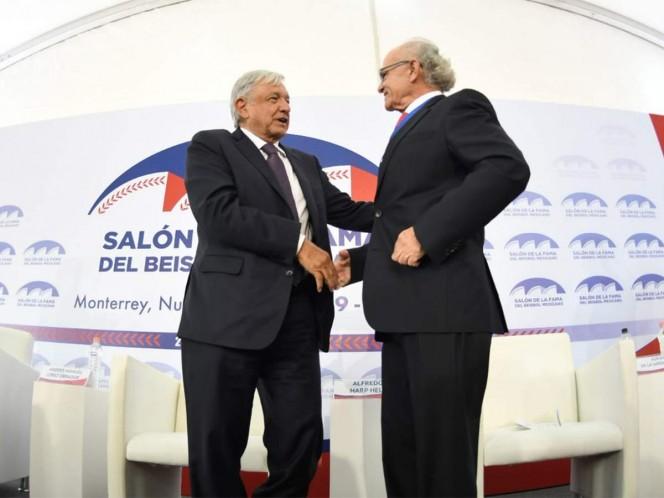 AMLO inaugurará Salón de la Fama de béisbol en Monterrey