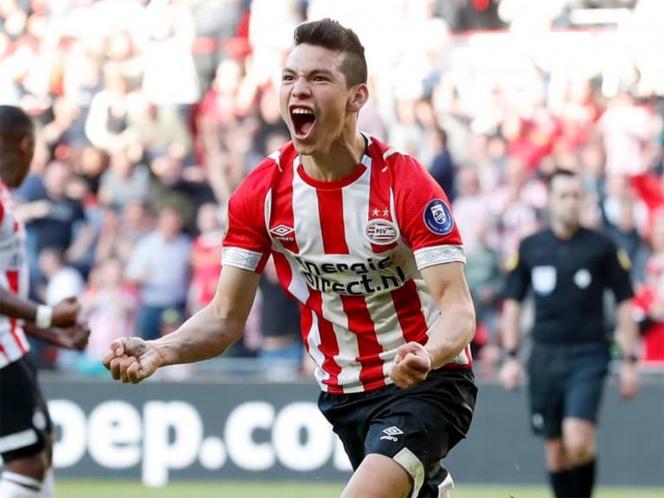 Con golazo, Chucky Lozano salvó al PSV