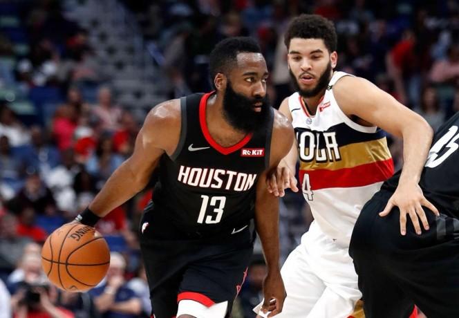 NBA: ¡On fire! Harden y los Rockets superan a los Spurs