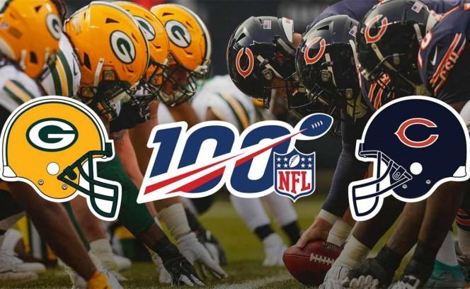 Packers-Bears abrirán temporada 2019 de la NFL en Chicago