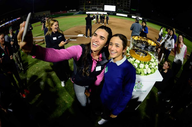 Lorena Ochoa vuelve a hacer historia en el golf femenil