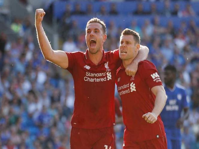 Liverpool se mantiene líder de la Premier League