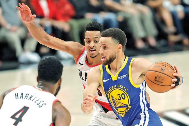 Warriors, mucha pieza; están a una victoria de las finales de la NBA