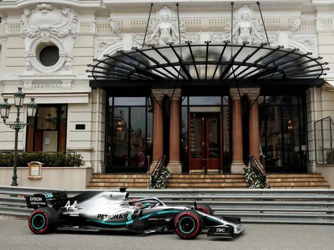Hamilton y Bottas, sin rivales en Mónaco