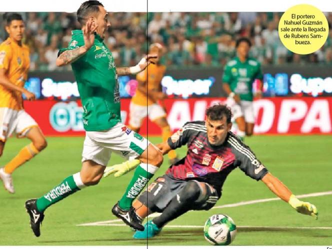 Candados en León, solitario gol en 180 minutos