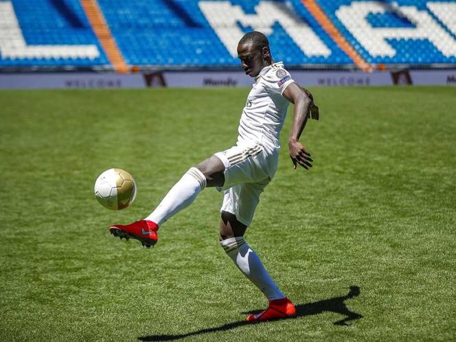 Mendy, honrado de estar en el Real Madrid