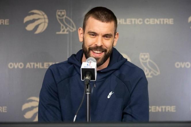 Marc Gasol continuará con los Raptors