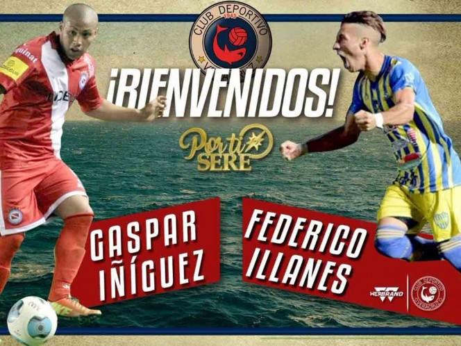 Veracruz se refuerza con dos argentinos