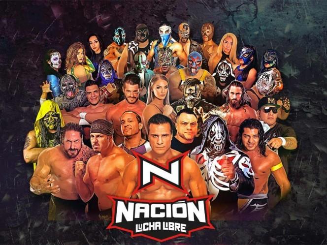 Disfruta Nación Lucha Libre a través de Imagen Televisión