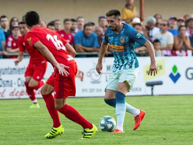 Héctor Herrera debuta en triunfo del Atlético