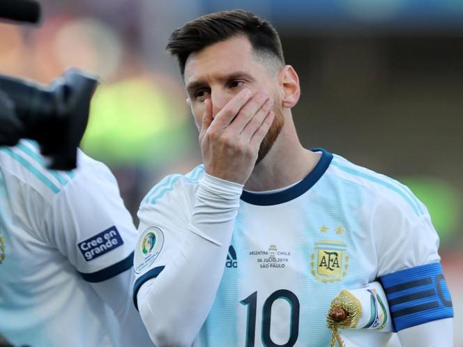 Tres meses de suspensión para Messi — Oficial