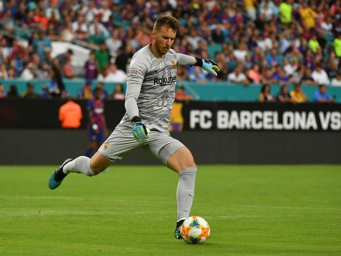Neto regresó lesionado de la gira que el equipo azulgrana hizo por Estados Unidos (Reuters)