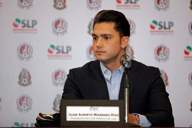 Alberto Marrero, subrayó que el despido del técnico Alfonso Sosa se debió por la falta de respeto que tuvo el timonel con el propio dirigente y los jugadores. (Imago7)